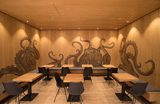 Fish&Chips, Interior Design, HBF Berlin