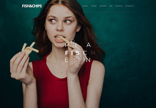Fish&Chips Webdesign