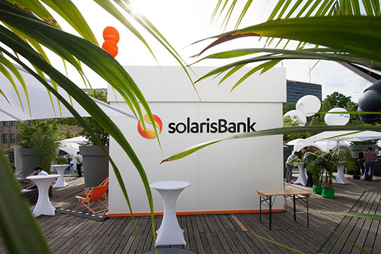 Solaris Bank, Messestand, Berlin